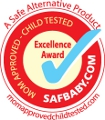SAFBaby.com Excellence Award Winner Naturepedic Mattress