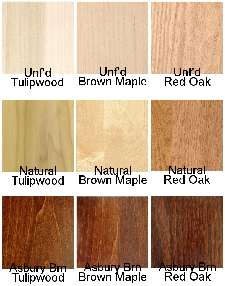 Hardwood & Stain Options