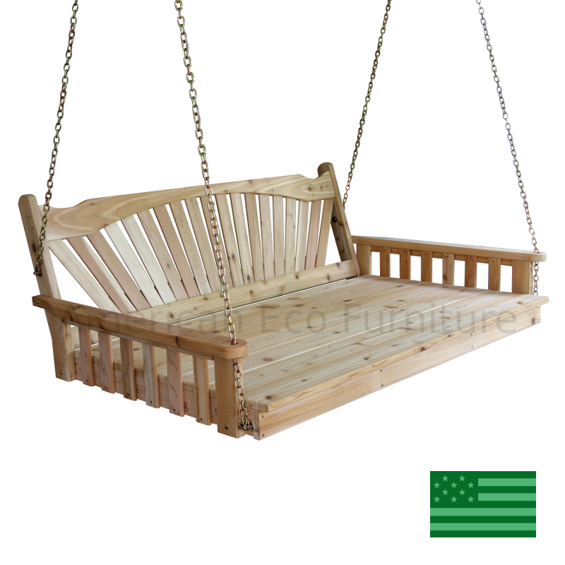 Cedar Rio Porch Swing Bed