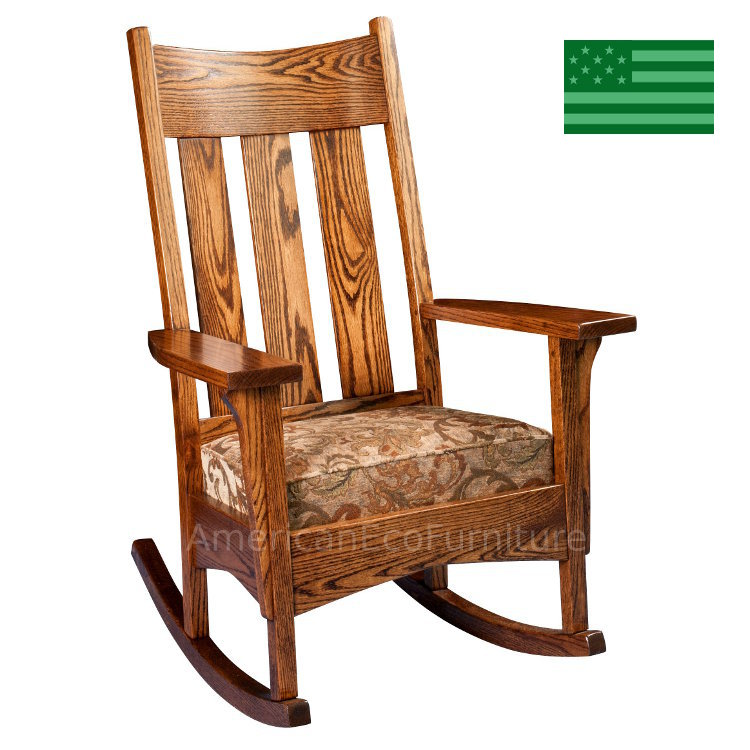 Anson Mission Rocking Chair
