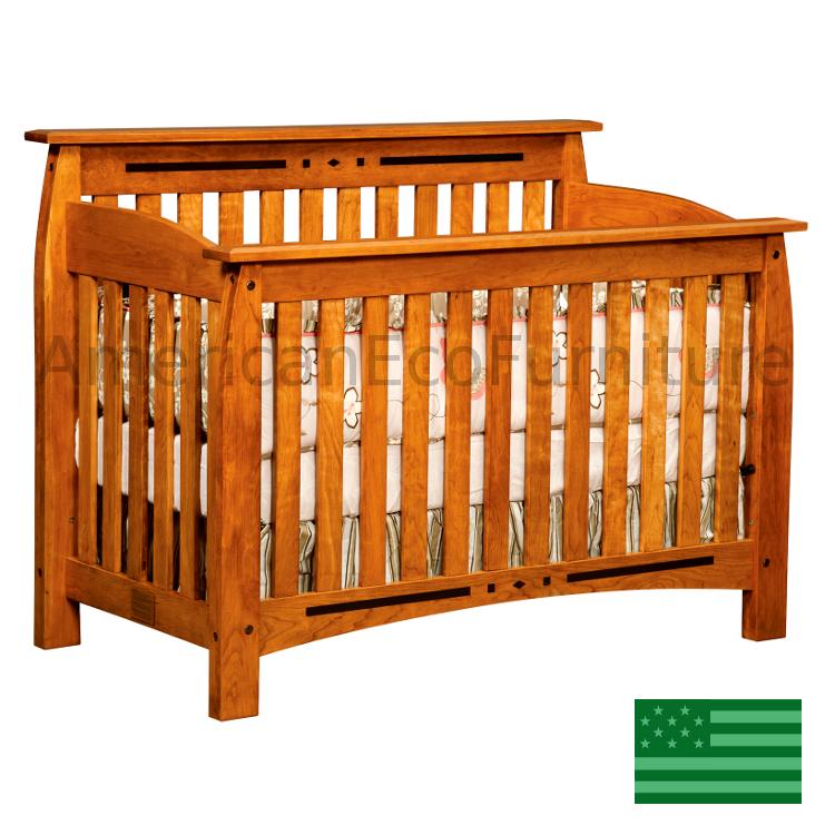 Arcadia 4 in 1 Convertible Baby Crib