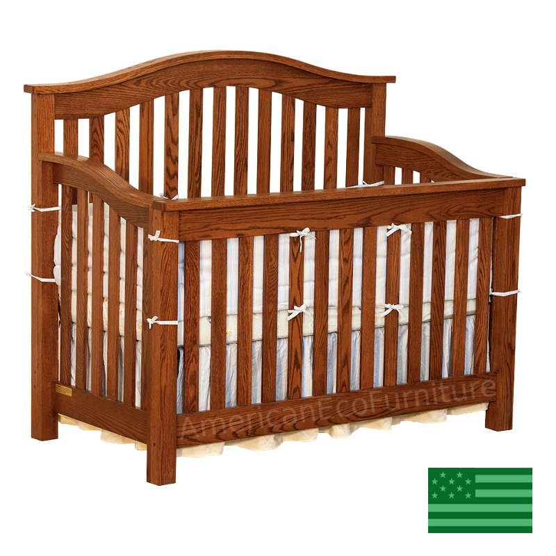 Aria 4 in 1 Convertible Baby Crib