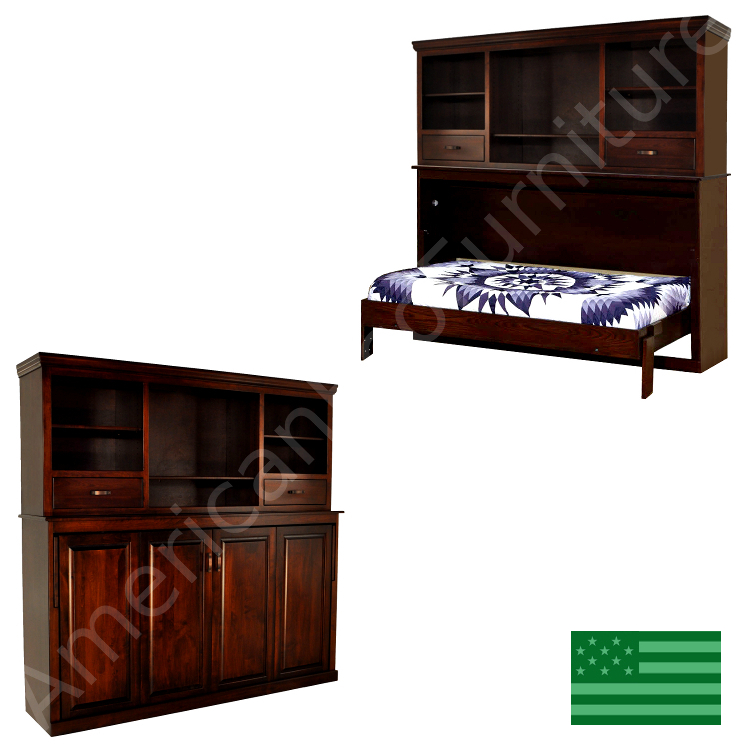 Avalon Bookcase Murphy Bed
