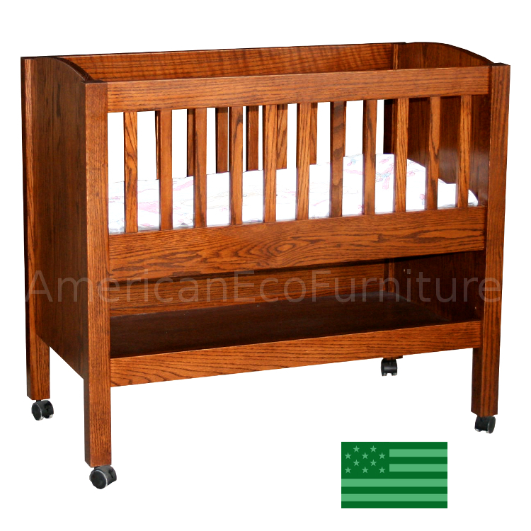 Baby Bassinet with Shelf
