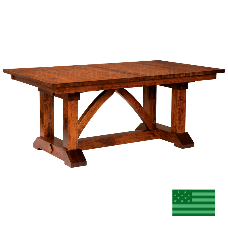 Banff Trestle Dining Table