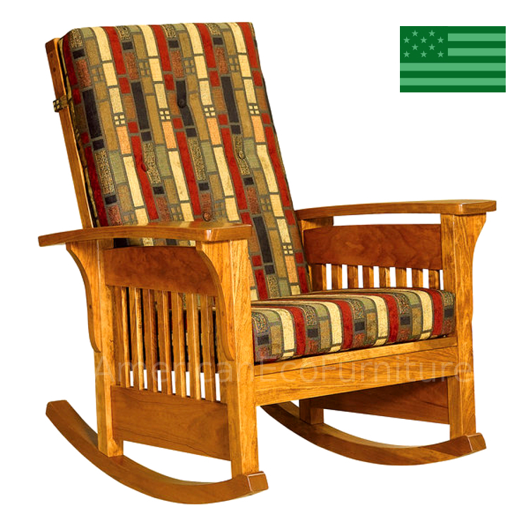 Bow Arm Rocking Chair