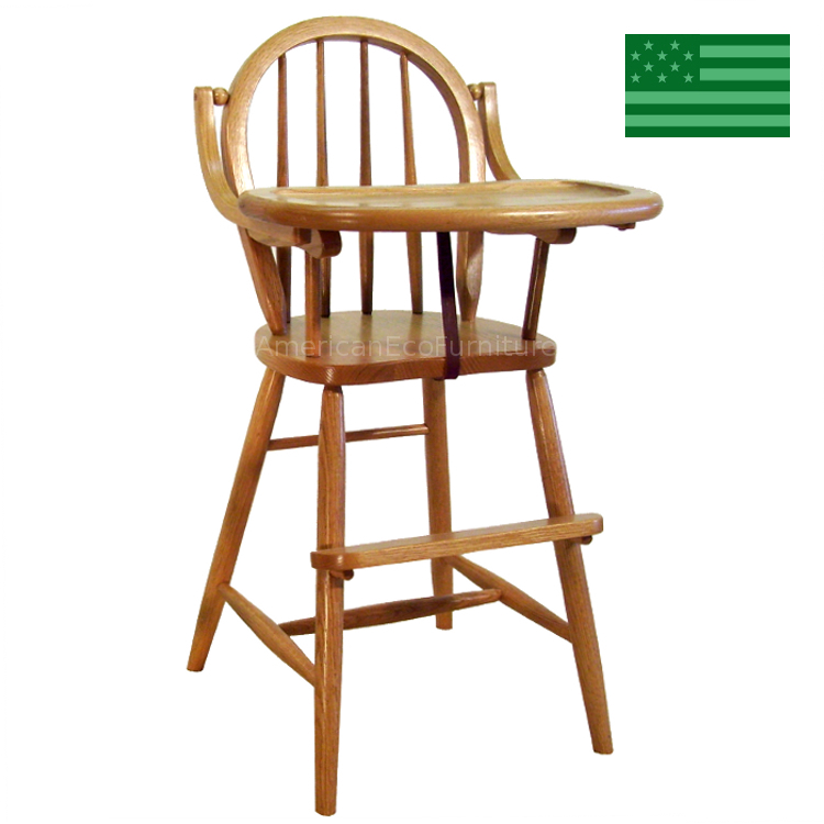 Bow Back Baby High Chair