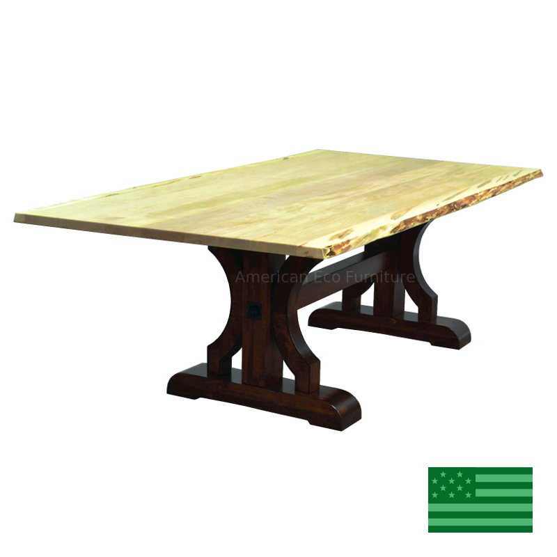 Brea Live Edge Dining Table