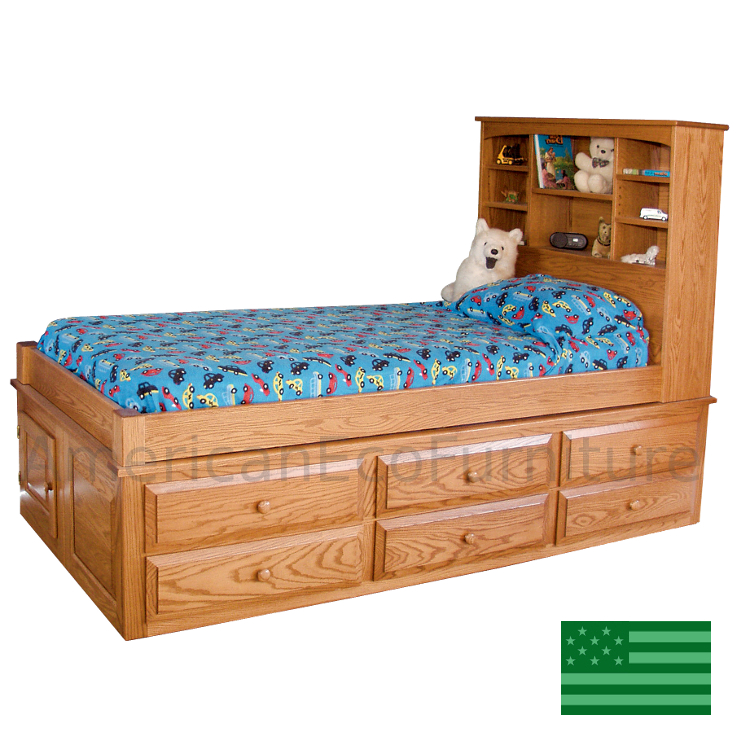 6 Drawer Captain S Bed