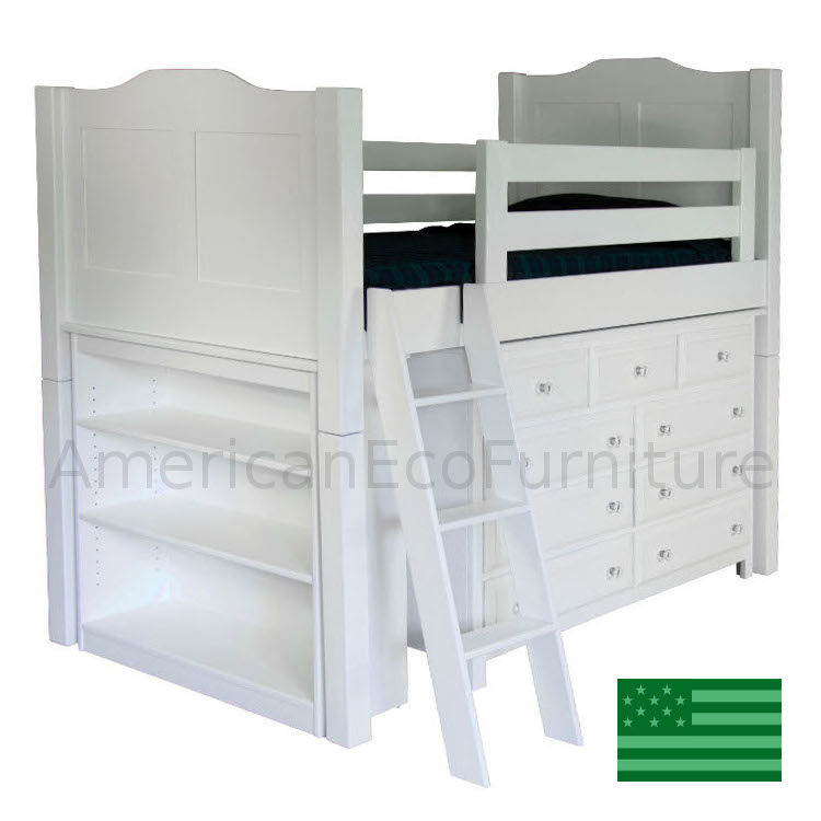 Bancroft Low Loft Bed