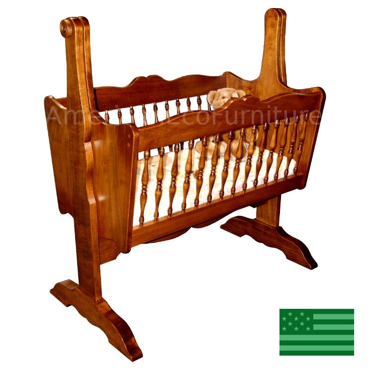 Spindle Baby Cradle