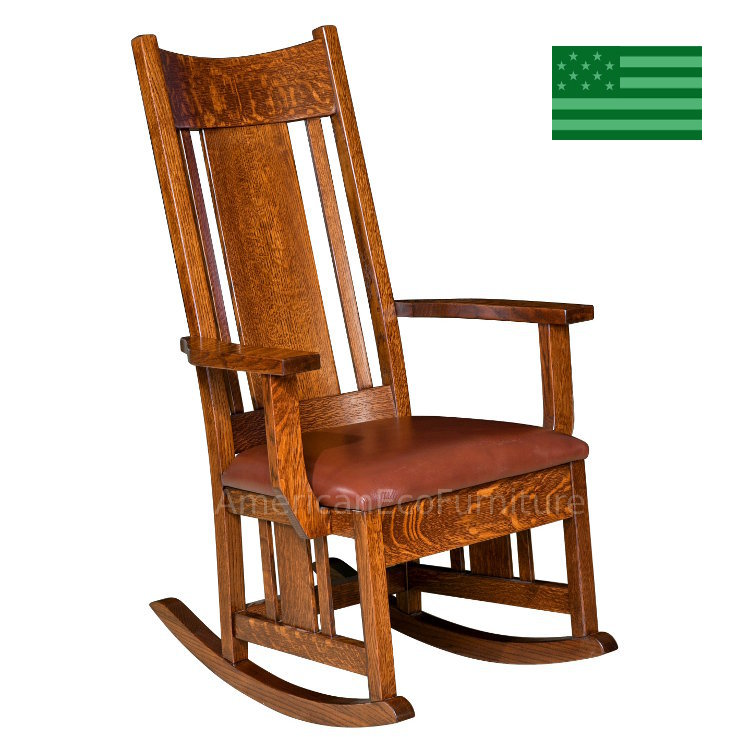 Colebrook Rocking Chair with Upholstered Seat