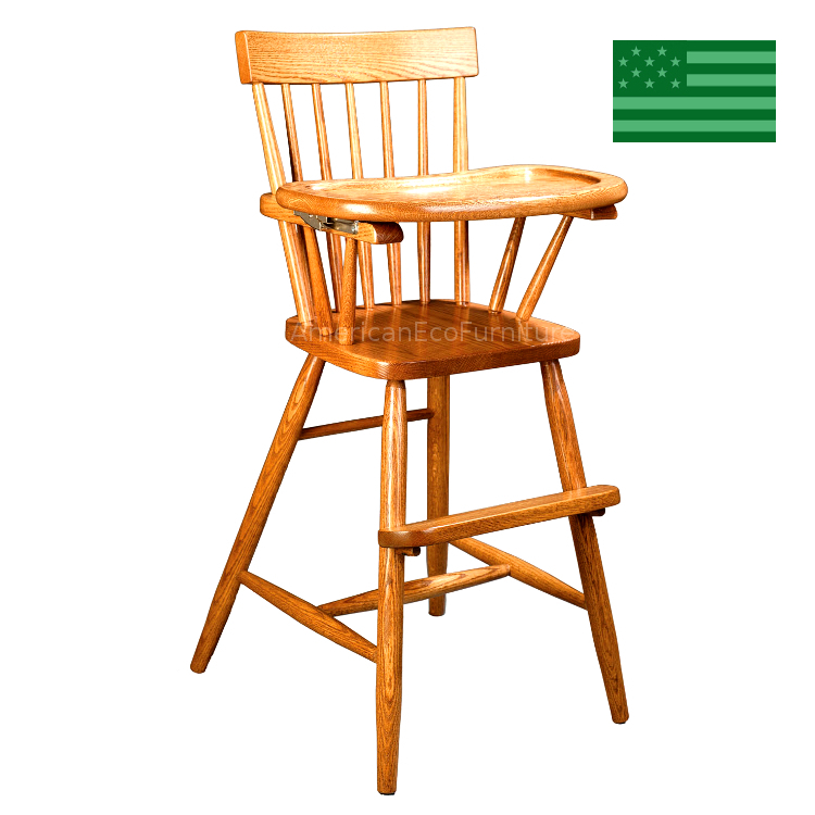 Comb Back Baby High Chair