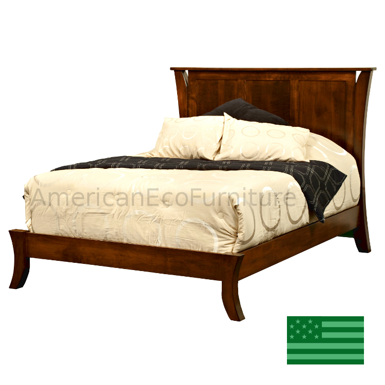 Corsica Panel Bed - Low Footboard