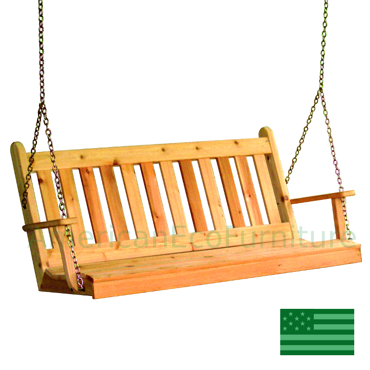 Cedar Elsa Porch Swing