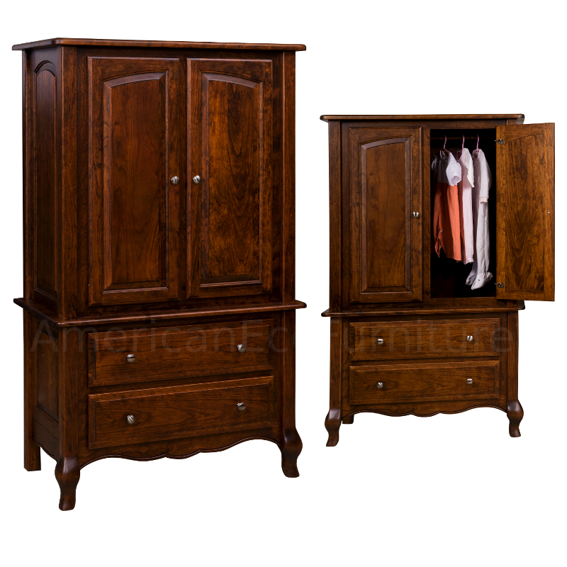 Armoire (Shown in Brown Maple)