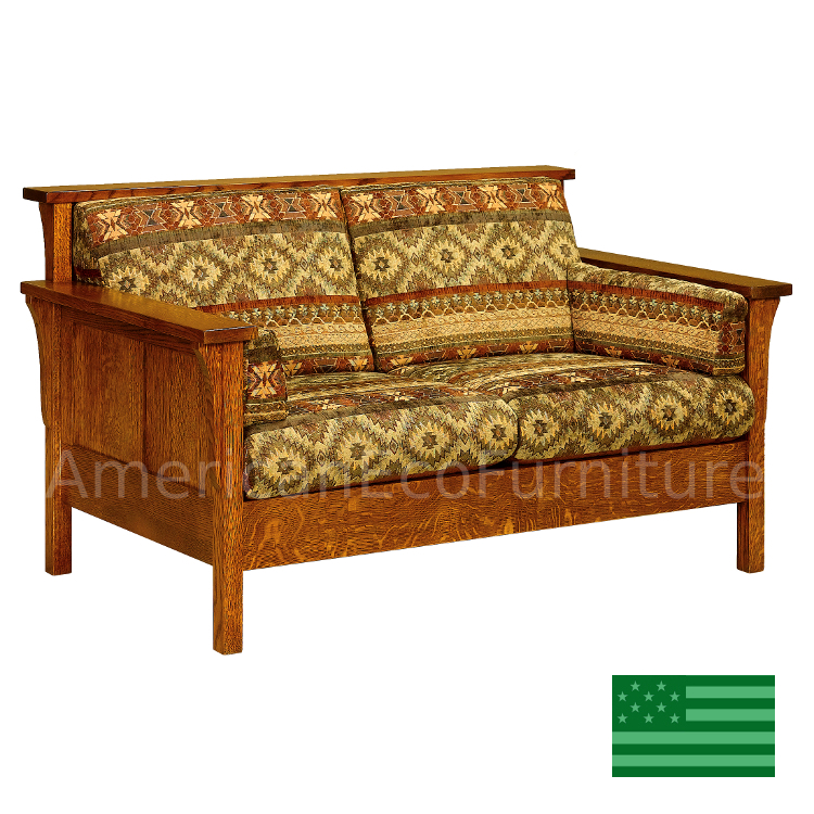 Honeydale Panel Loveseat