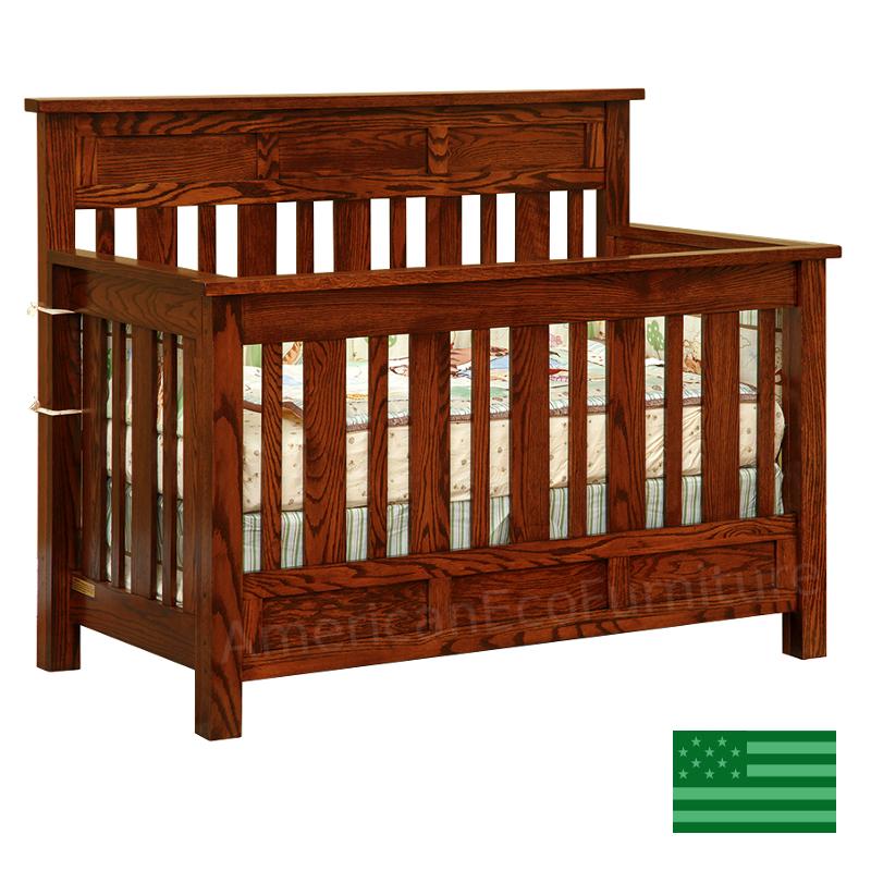 Houston 4 in 1 Convertible Baby Crib