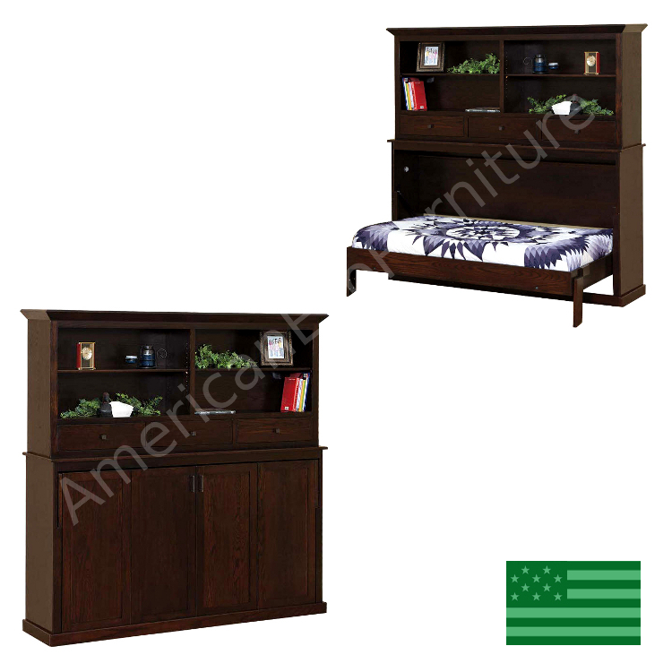 Landon Bookcase Murphy Bed