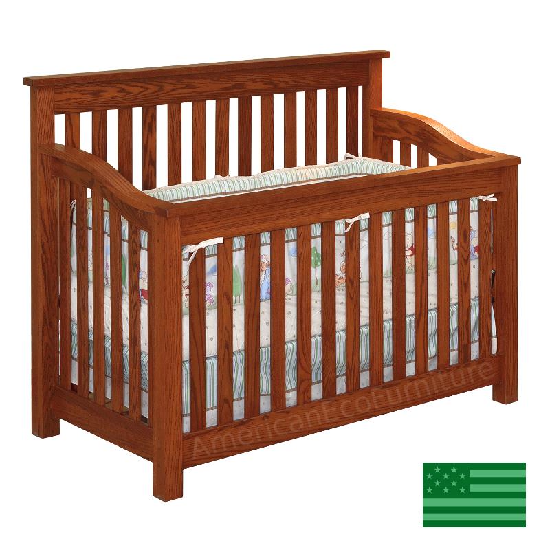 Maddon 4 in 1 Convertible Baby Crib