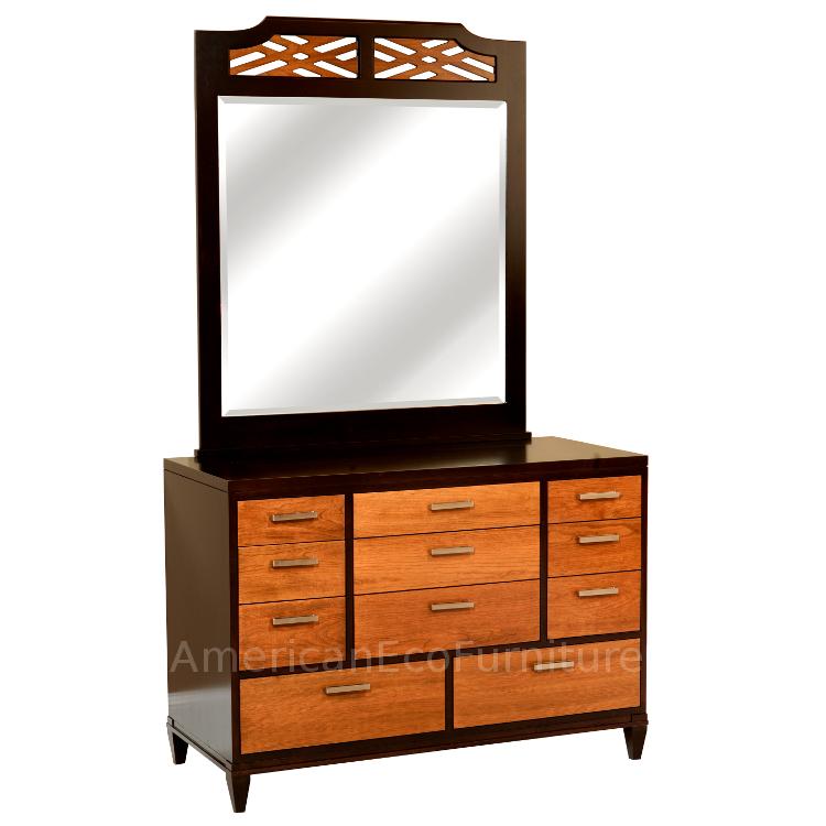 """48"""" 11 Drawer Dresser & Mirror"""