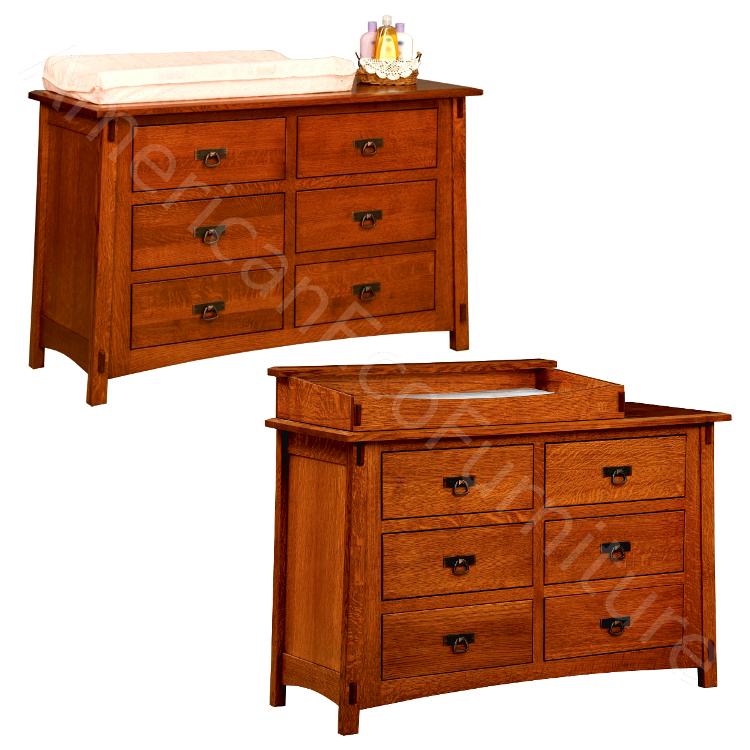 6 Drawer Dresser / Baby Changer (Shown in QSWO)