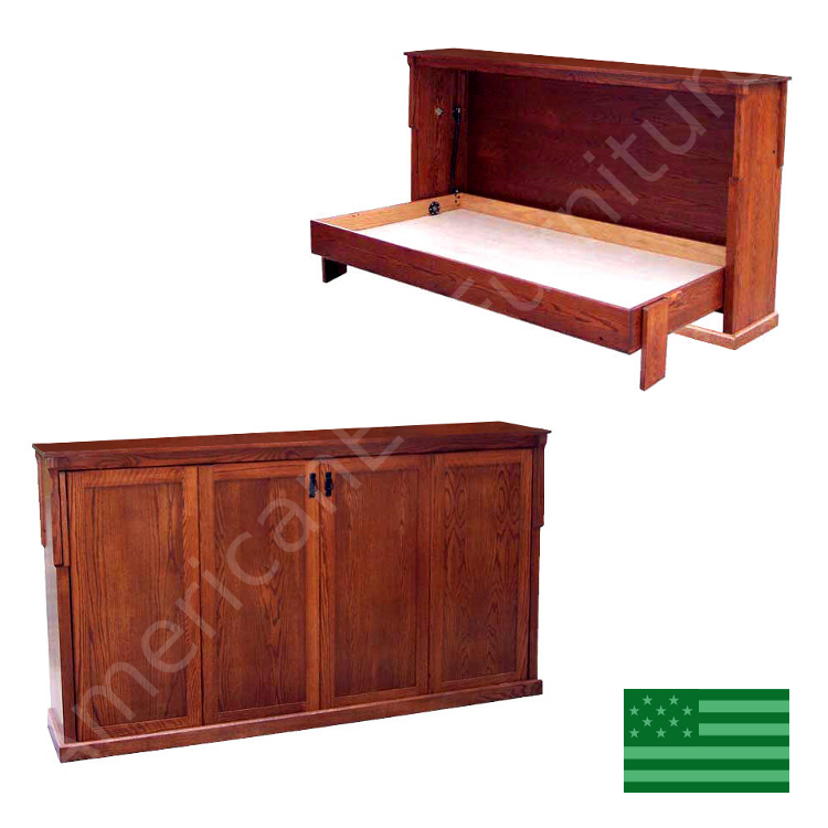 Wall Beds Murphy Bed Made In Usa American Eco Furniture