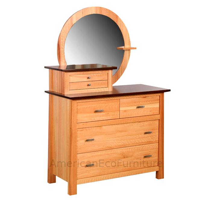4 Drawer Chest & Mirror