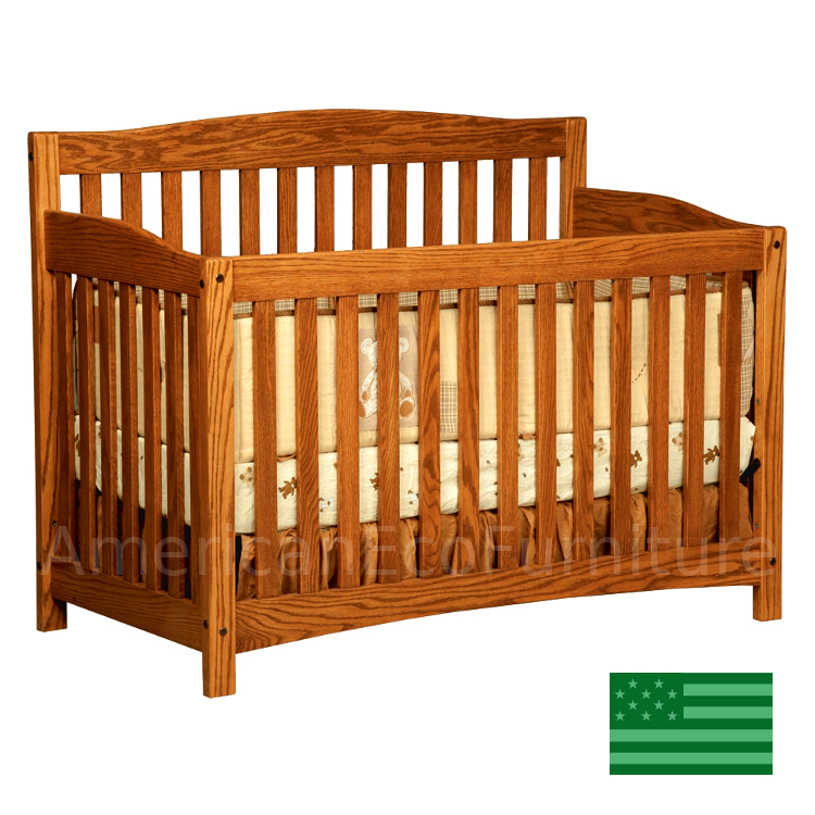 Monterey 4 In 1 Convertible Baby Crib