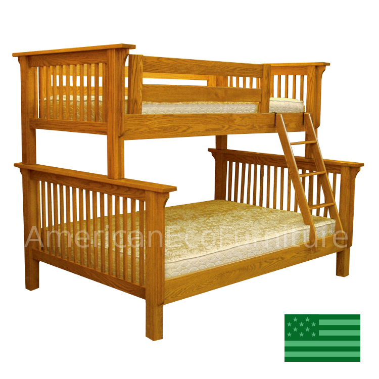 Pearce Twin over Full Bunk Bed