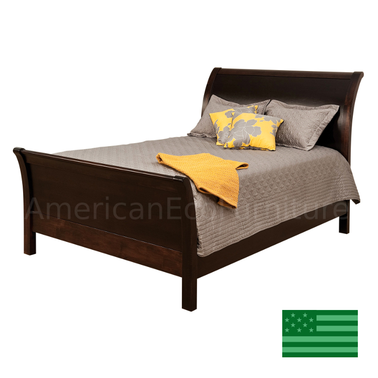 Classic Sleigh Bed