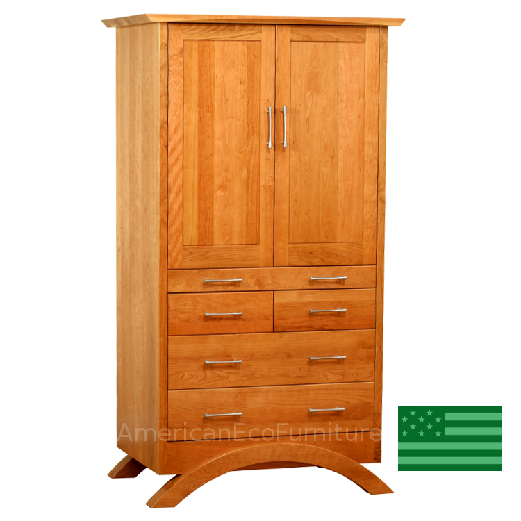 Sunrise Armoire With Tray