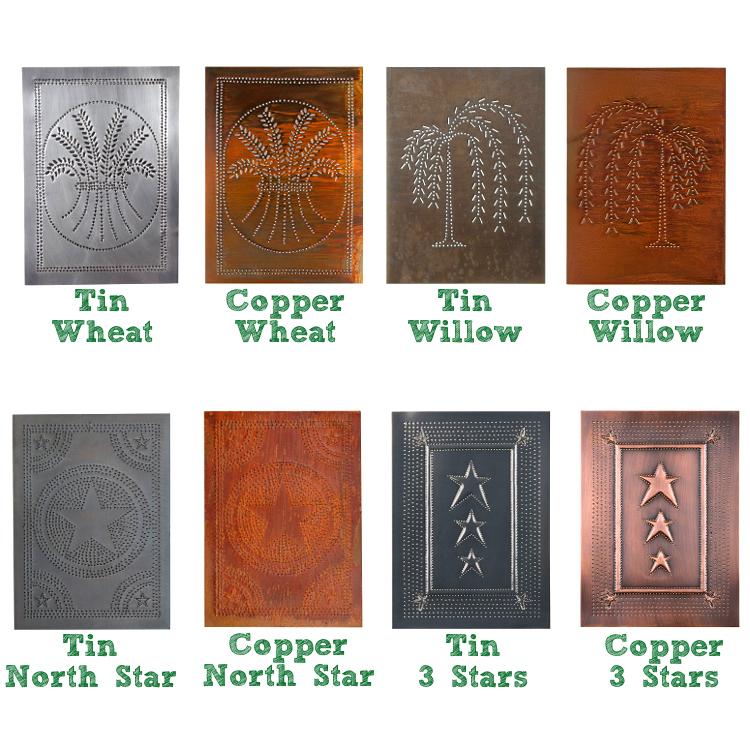 Tin & Copper Panels