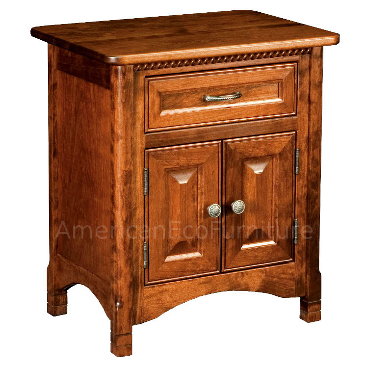 1 Drawer Nightstand (Shown in Brown Maple)