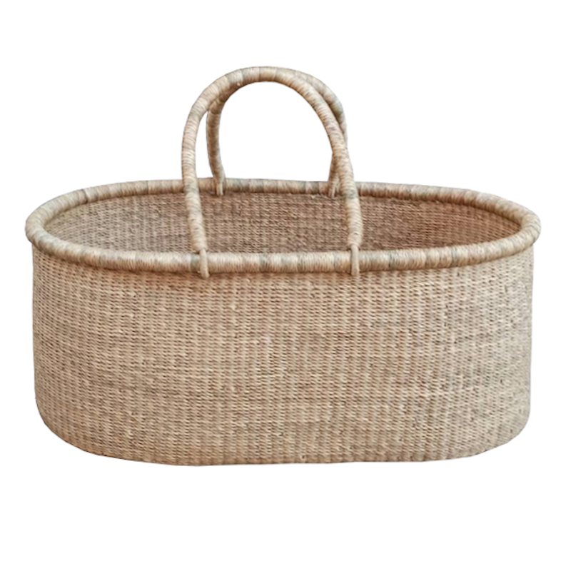 Large Accra Moses Basket for Loungers