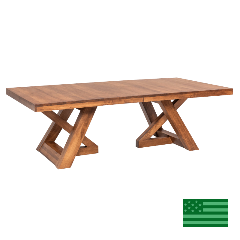 Ellis Double Pedestal Dining Table - options