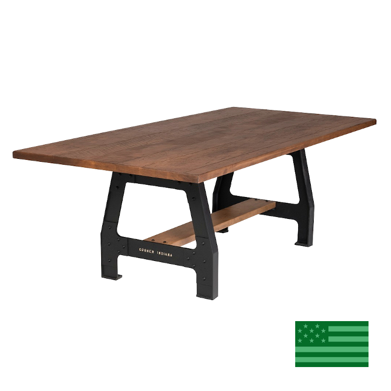 Lodge Trestle Dining Table