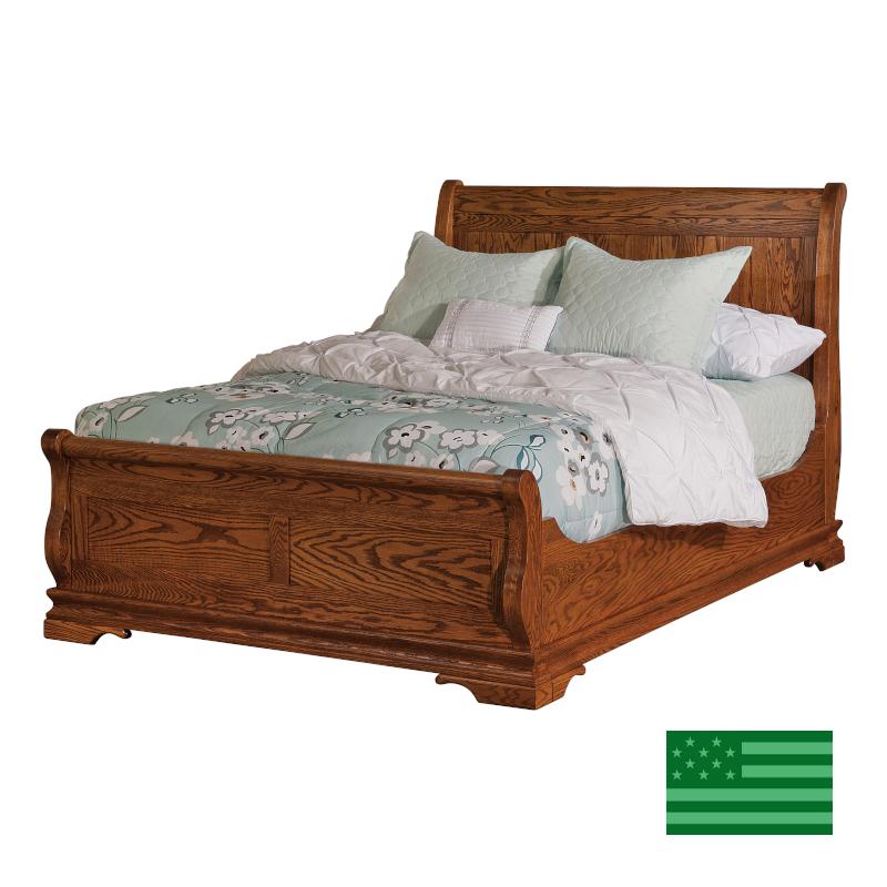 Carrington Sleigh Bed