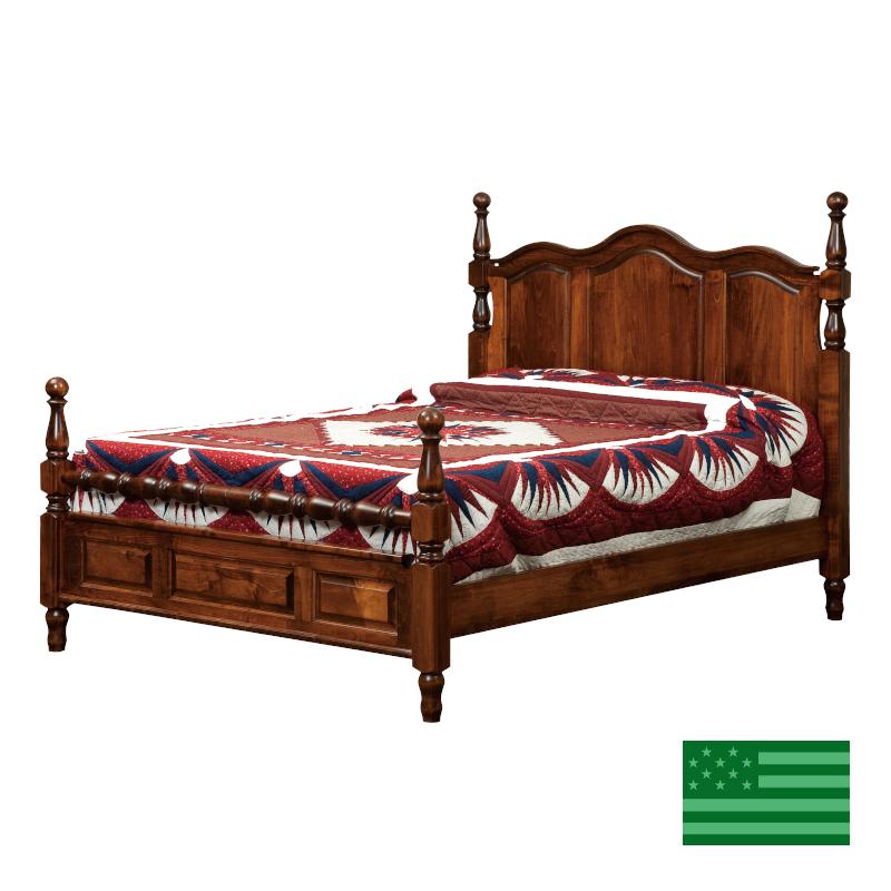 Highlands Panel Bed