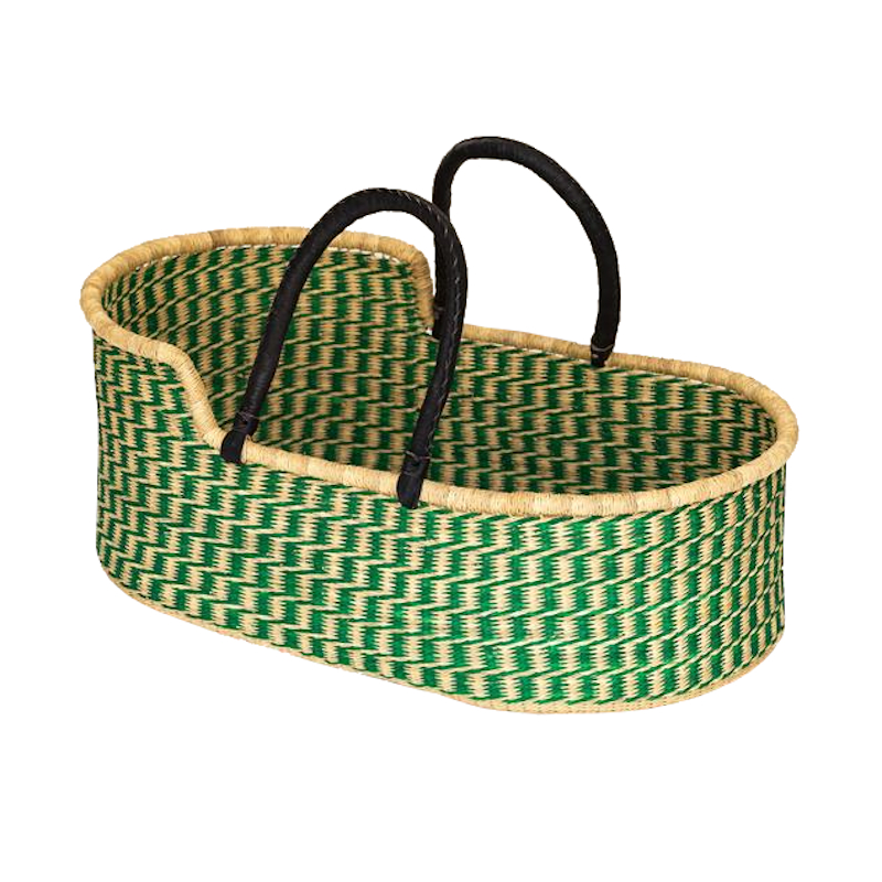 Large Fern Moses Basket for Loungers