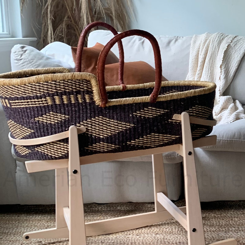 Large Juniper Moses Basket for Loungers