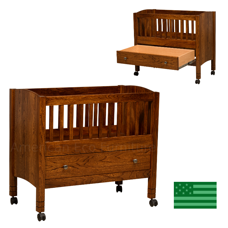 Baby Bassinet with Drawer