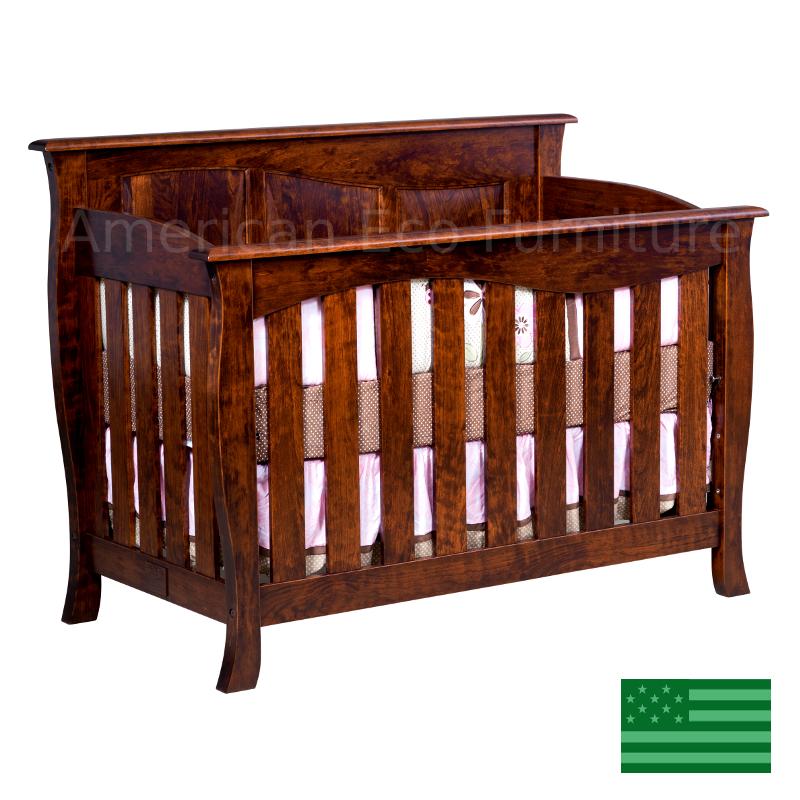 Catalina Slats Convertible Baby Crib Made In Usa Solid