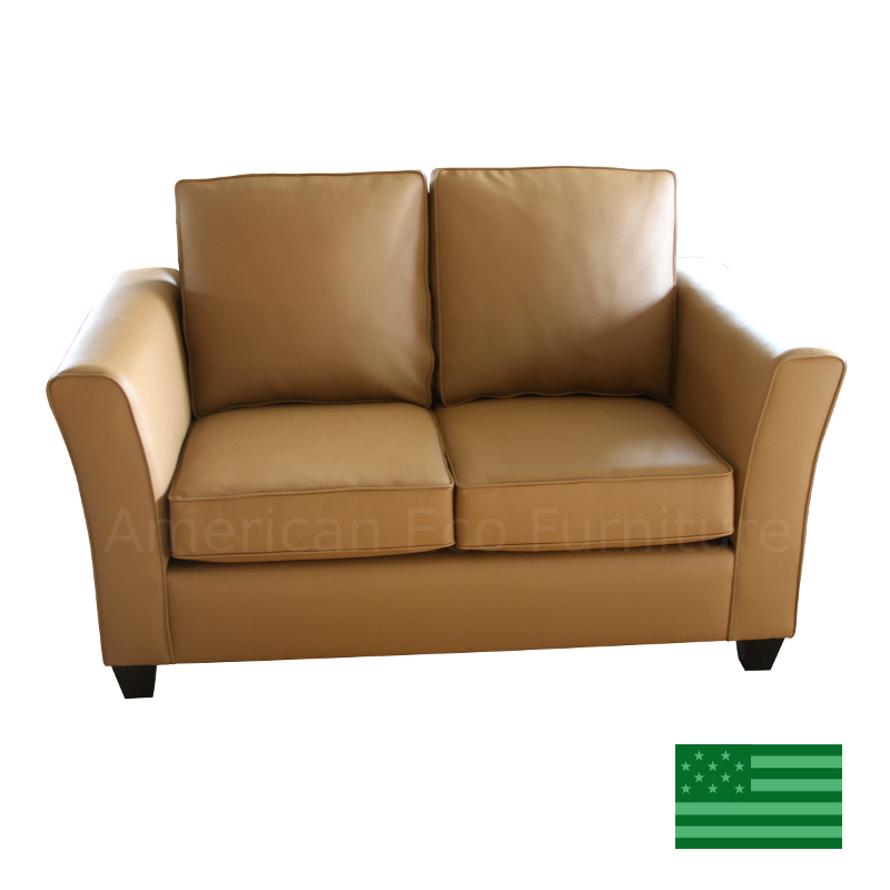 USA Made Loveseats : Solid Wood Frame Amish Loveseats :: American ...