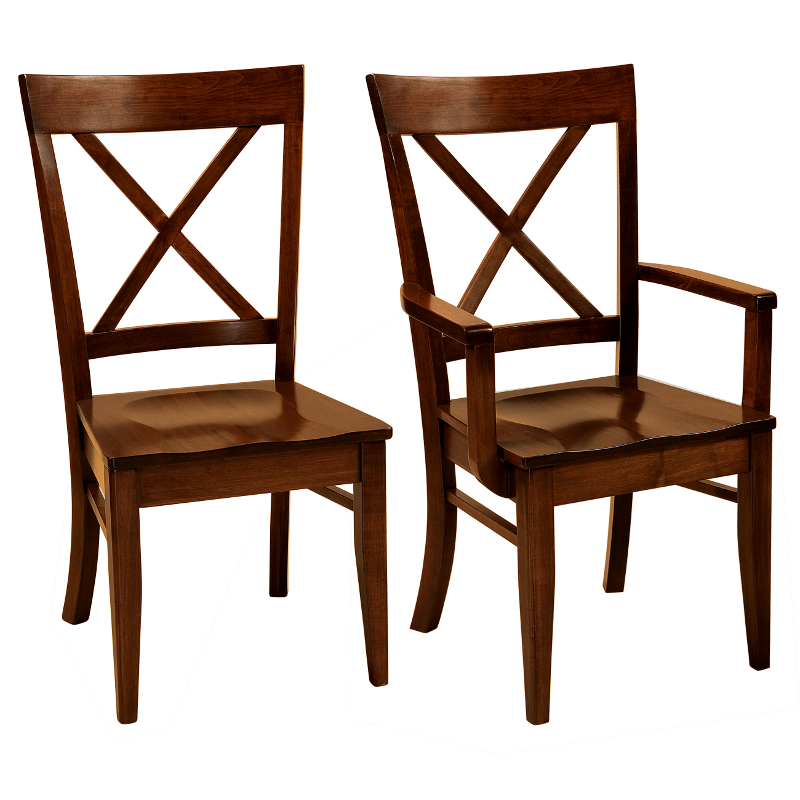 Awesome Amish Solid Wood Heirloom Furniture Made In Usa Fairfax Alphanode Cool Chair Designs And Ideas Alphanodeonline