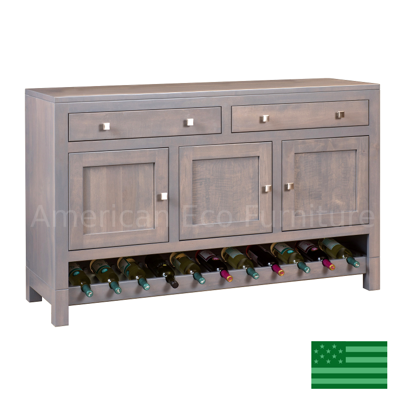 Hartford Buffet with Wine Rack