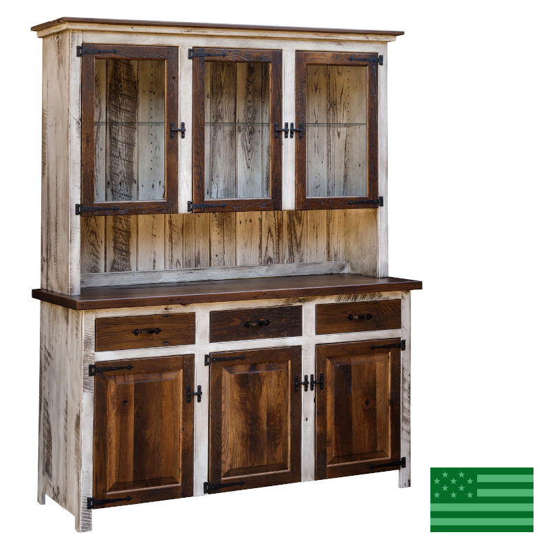Made.in.America.Amish.Prima.Reclaimed.Barnwood.3.Door.Hutch.54,55.800.jpg