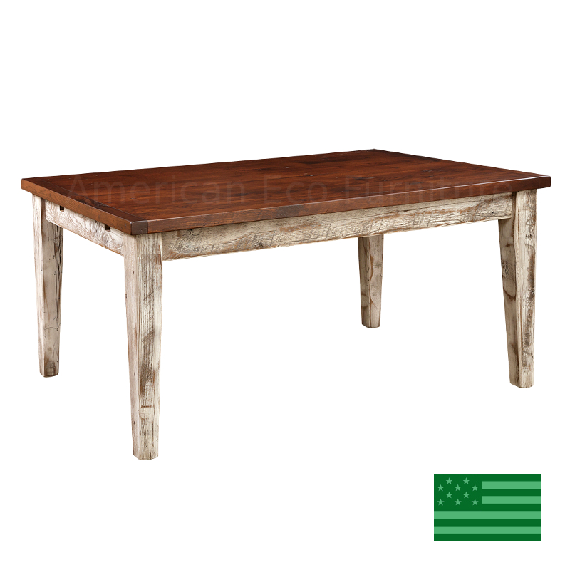 Prima Dining Table - Reclaimed Barnwood