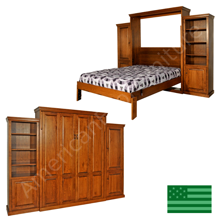 Redondo Murphy Bed Made In Usa American Eco Furniture