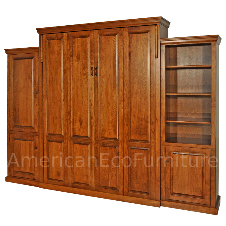 Amish Redondo Murphy Bed - Solid Wood : American Made ...